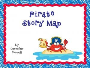 pirate story map