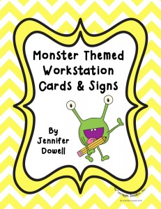 monster reading stations