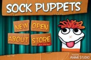 sock puppet app