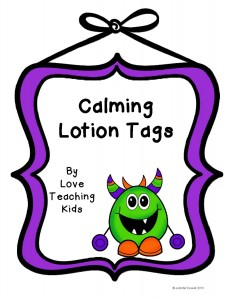 lotion tags