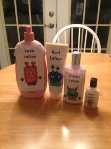 calm lotions