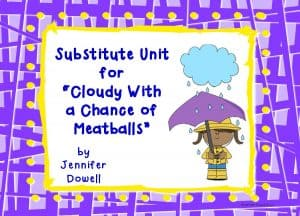 cloudy with a chance of meatballs sub unit