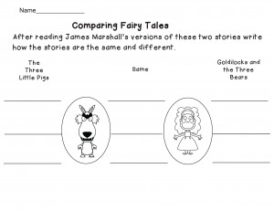 comparing fairy tales