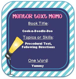 mentor text sign
