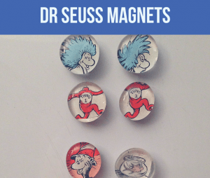 how to make dr seuss magnets