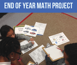 end of year math project