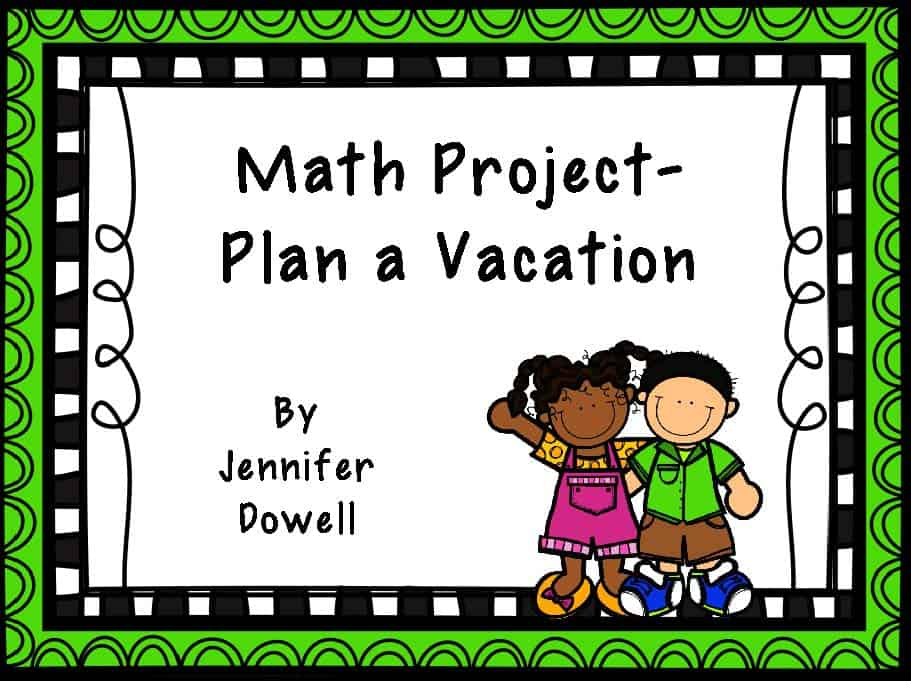 end of the year math projects