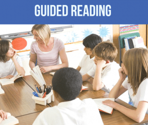 guided reading fluent readers
