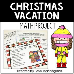 Christmas Vacation Math Activity