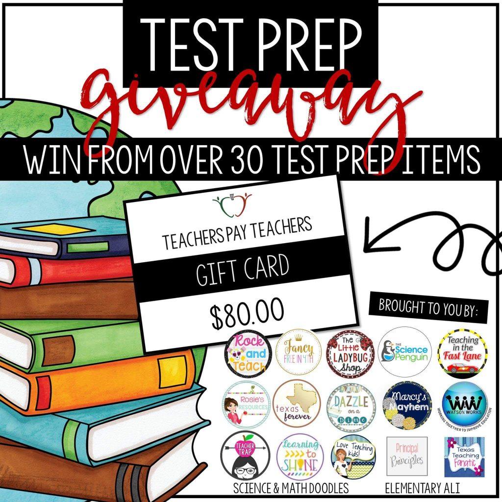 test prep giveaway