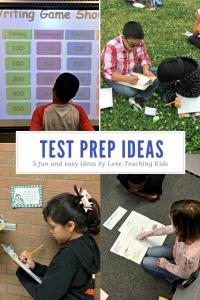 5 fun test prep ideas