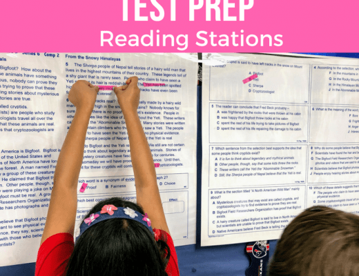 Test Prep Reading stations