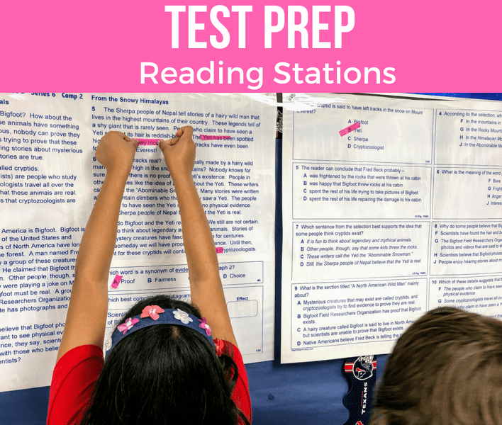 Test Prep Reading stations