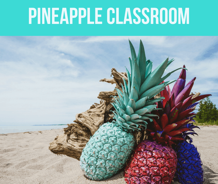 Pineapple Classroom Theme