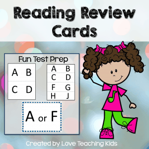 reading review cards