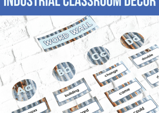 industrial classrom decor